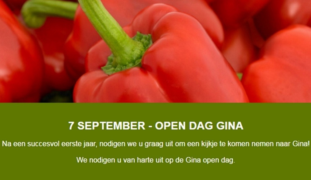Gina Open dag 7 september